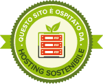 Hosting Sostenibile badge