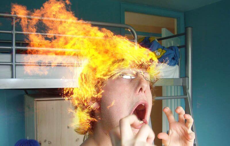 La rivincita dell'offline e i momenti hair on fire