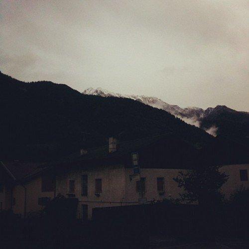 La prima neve mi ispira tre grandi banalità